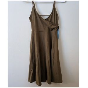 F21 flare dress.
